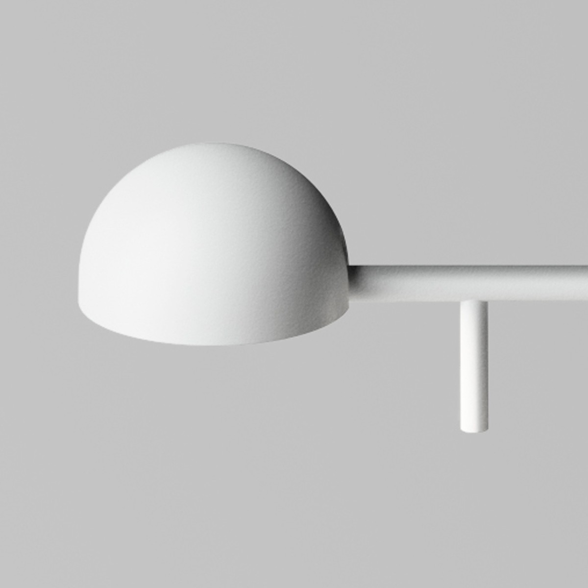 Vibia Pin 1650 Tischleuchte, weiß matt