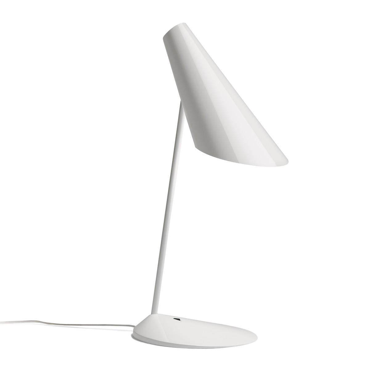 Vibia I.Cono 0700 Tischleuchte, weiß glänzend