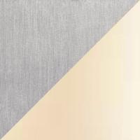 Avus Stehleuchte, Aluminium matt, Chintz champagner