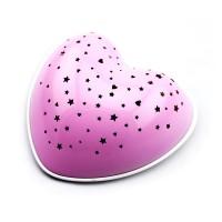 Niermann Standby Solar Heart Nachtlicht, rosa
