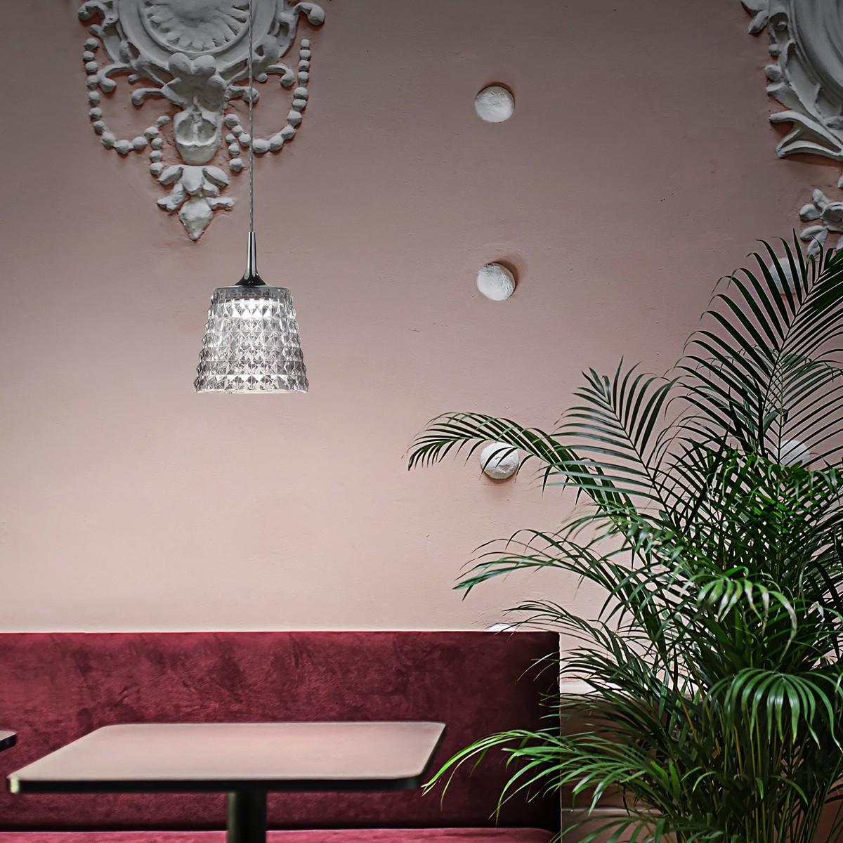 Studio Italia Design Valentina Pendelleuchte, 2700 K, Chrom