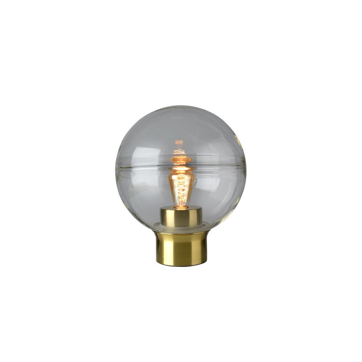 Villeroy & Boch Tokio Tischleuchte, Höhe: 36 cm, Metall: goldfarben, Glas: klar