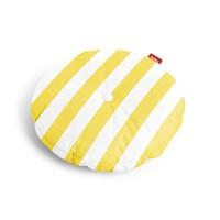 Fatboy Circle Pillow Outdoor Kissen, gelb gestreift