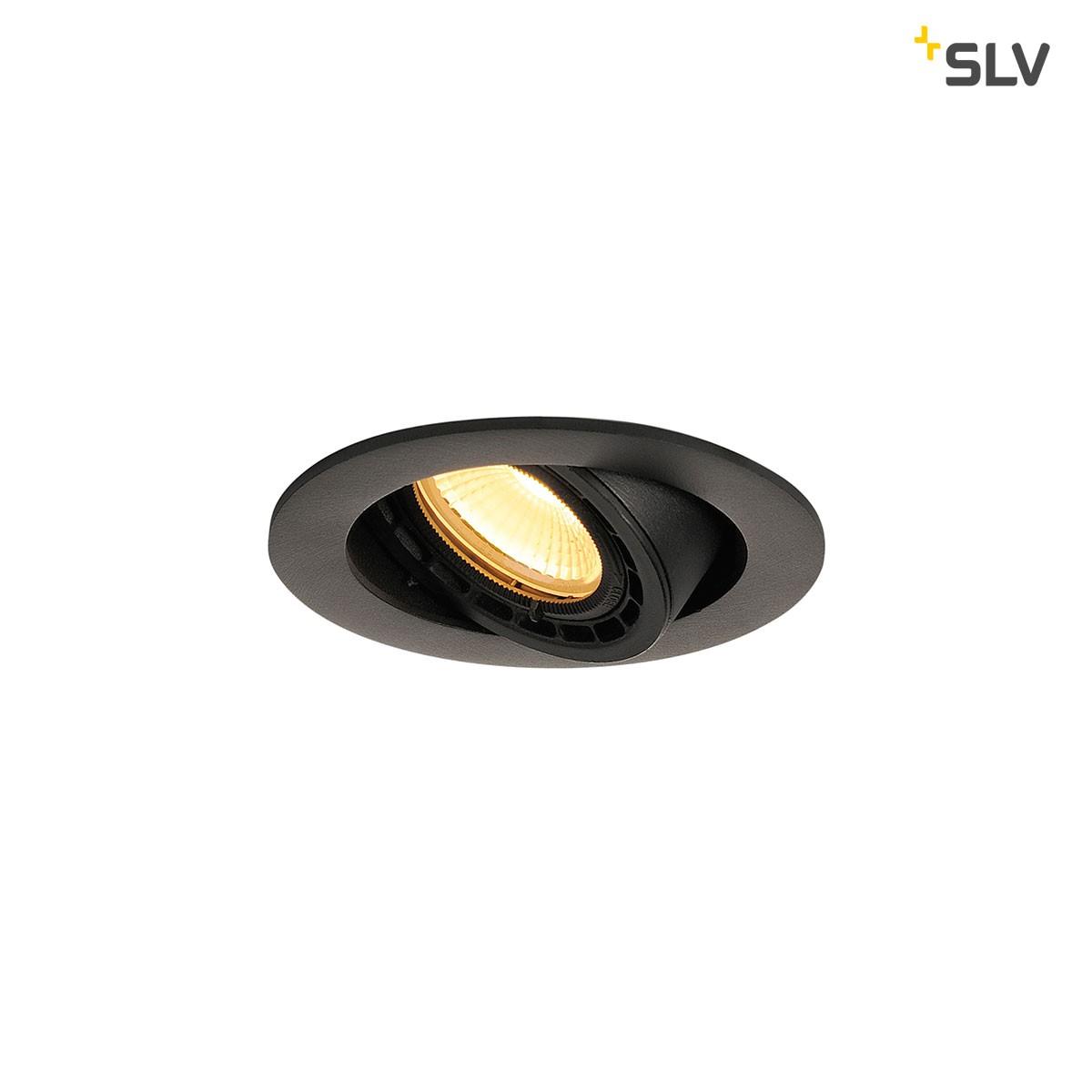 SLV Supros Einbaustrahler, schwarz