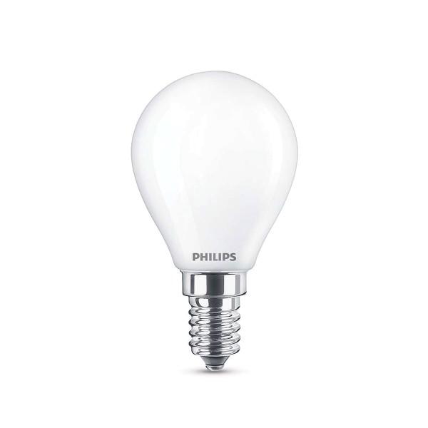 LED Classic E14 4,3 W, warmweiß, matt