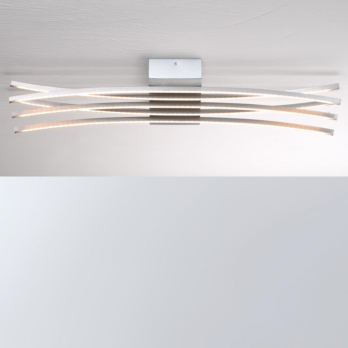 Bopp Convex LED Deckenleuchte 5-flg., Aluminium geschliffen