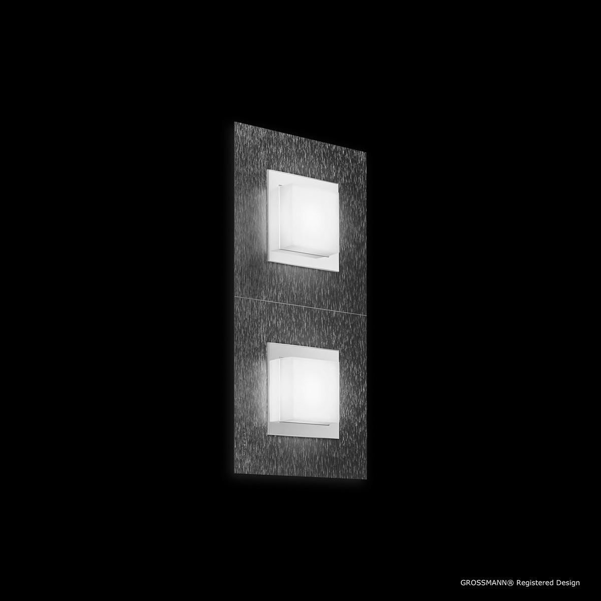 Grossmann Basic Wand- / Deckenleuchte 2-flg., anthrazit