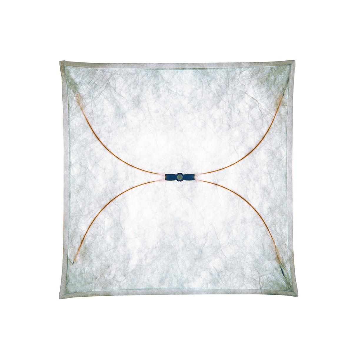 Flos Ariette Wand- / Deckenleuchte, 80 x 80 cm, Stoff