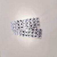 Diamante AP2 Wandleuchte, Kristallglas klar