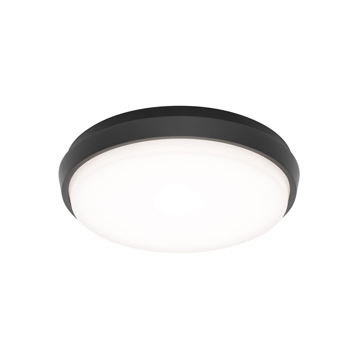 LCD Außenleuchten 5065/5066/5067 LED Wand- / Deckenleuchte, Ø: 17,5 cm, graphit