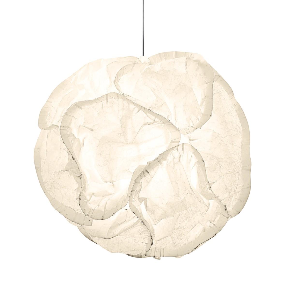 Belux Cloud Pendelleuchte Halo, Ø: 65 cm, weiß