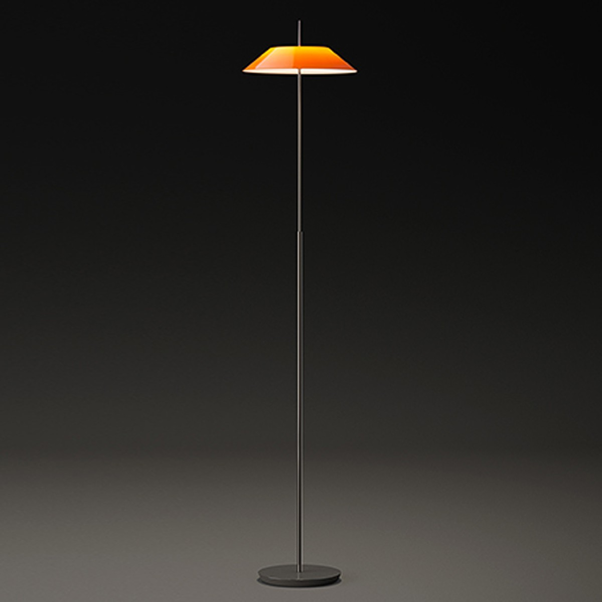 Vibia Mayfair 5510 Stehleuchte, Schirm: orange
