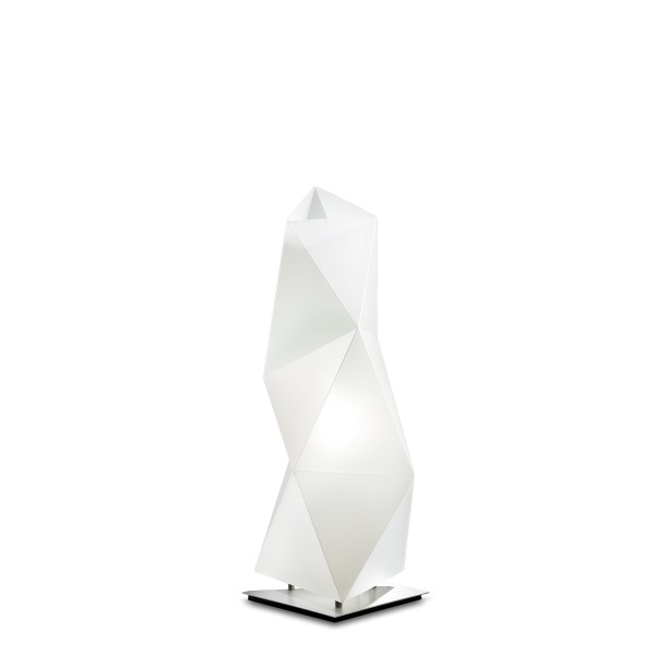 Slamp Diamond Table, small, Höhe: 45 cm, white (weiß)