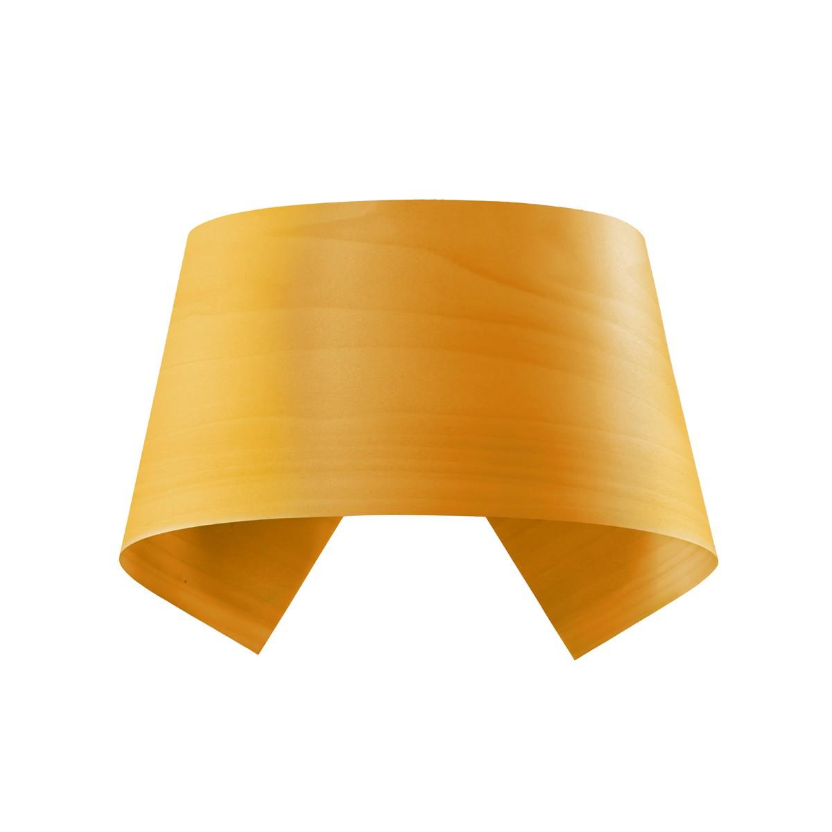 LZF Lamps Hi-Collar LED Wandleuchte, gelb