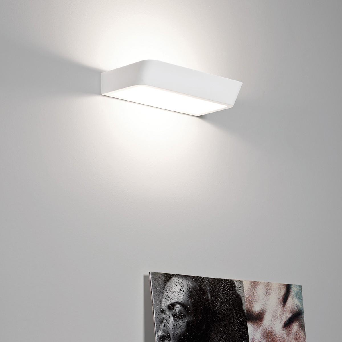 Rotaliana Belvedere W2 LED Wandleuchte On/Off, 3000 °K, weiß matt