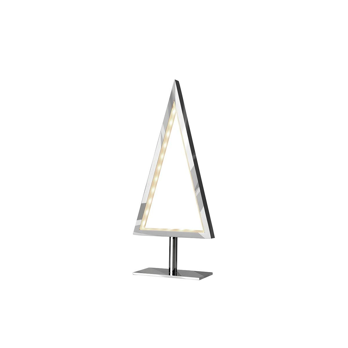 Sompex Pine-S LED Tischleuchte, Chrom
