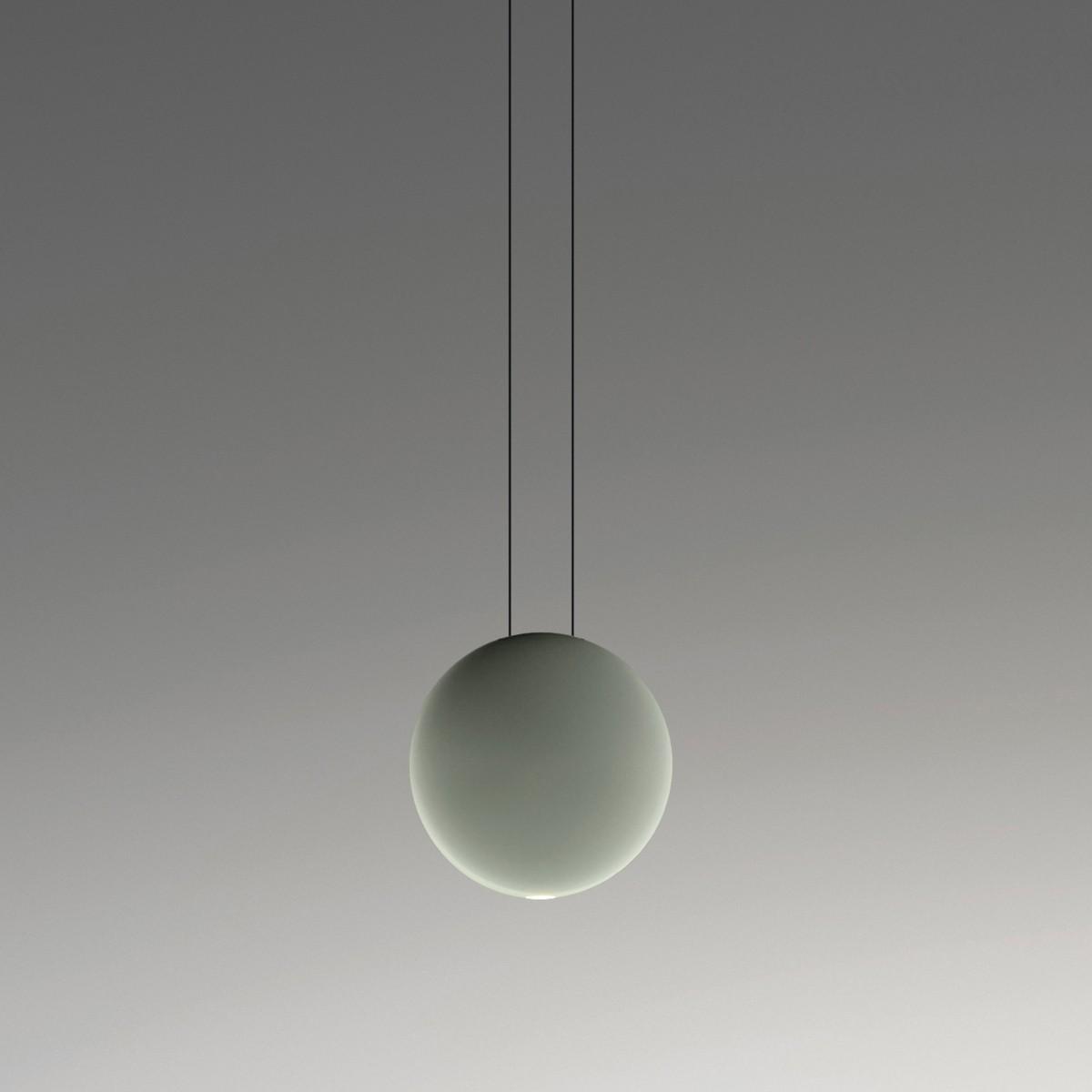 Vibia Cosmos 2501 Pendelleuchte, grün matt, dimmbar