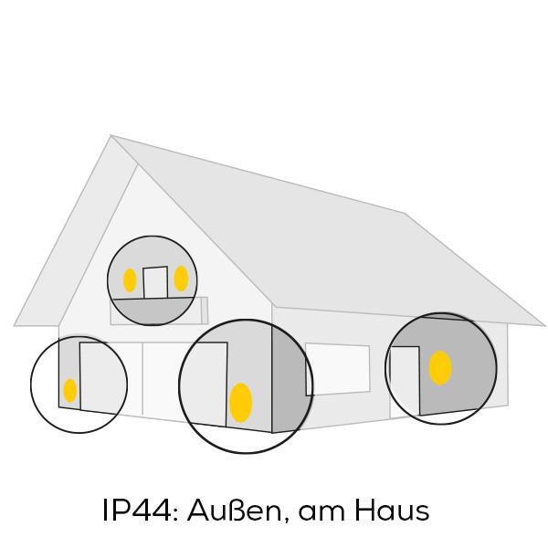 IP44 Außenbeleuchtung