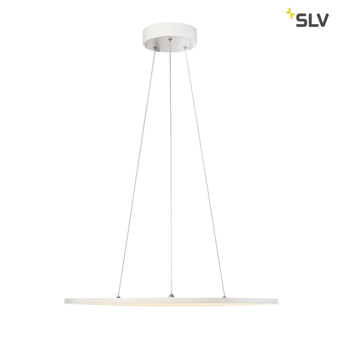 SLV LED Panel Pendelleuchte, 2700°K, weiß