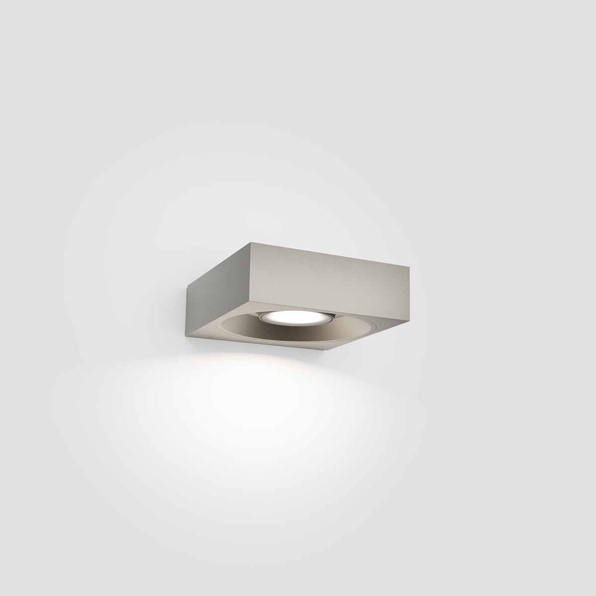 IP44.de Pip LED Außenwandleuchte, space grey (grau)