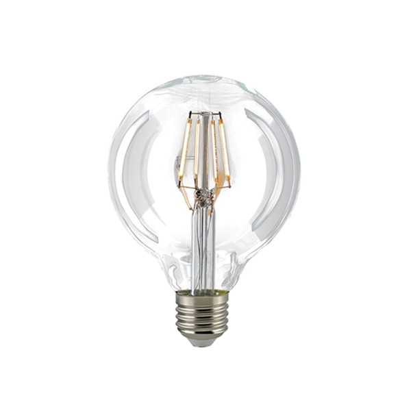 LED Filament Globe E27 dimmbar 8,5 W klar