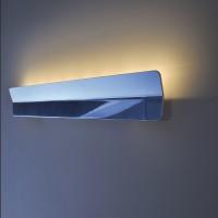 Piani Muro Wandleuchte, 90 cm, Aluminium poliert