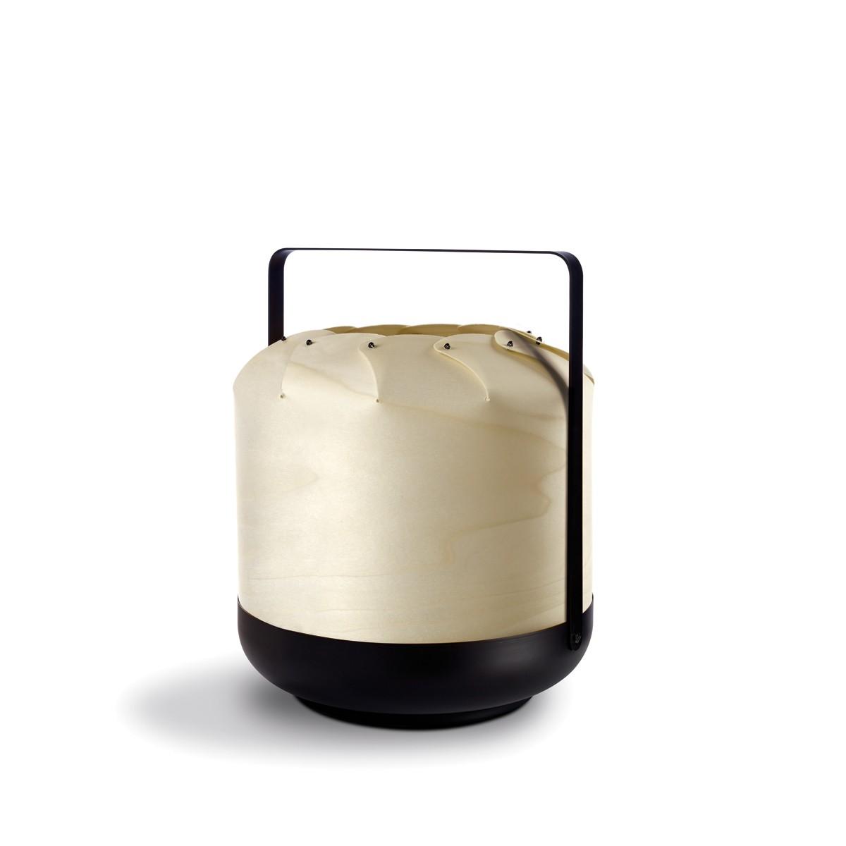 LZF Lamps Chou Short Tischleuchte, elfenbeinweiß