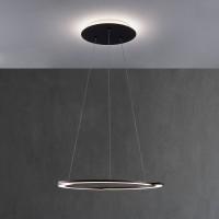 Escale Arc LED Pendelleuchte, schwarz