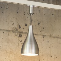One Eighty Ceiling Track, L, Ø: 16 cm, Aluminium gebürstet