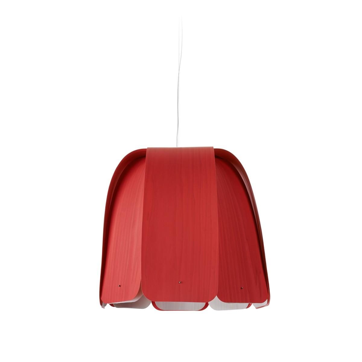 LZF Lamps Domo Pendelleuchte, rot