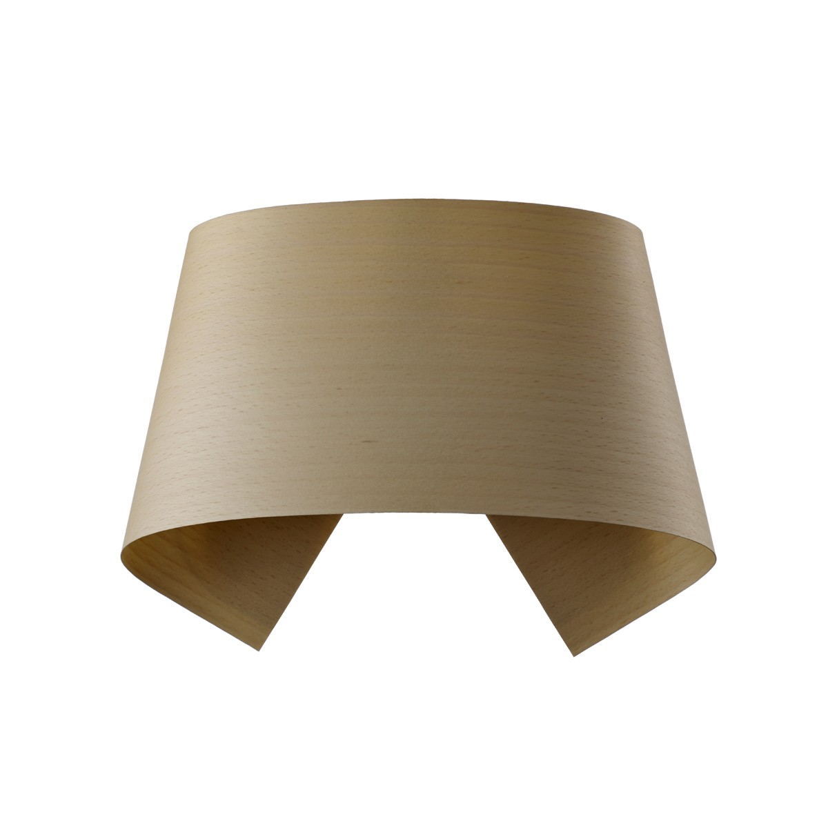 LZF Lamps Hi-Collar LED Wandleuchte, Buche