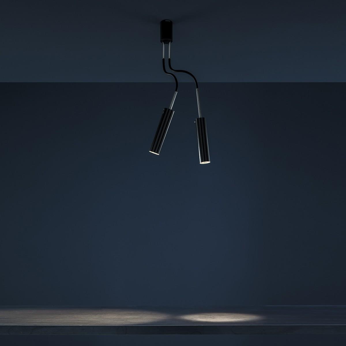 Catellani & Smith Lucenera 206 Deckenleuchte, Höhe: 80 cm, schwarz