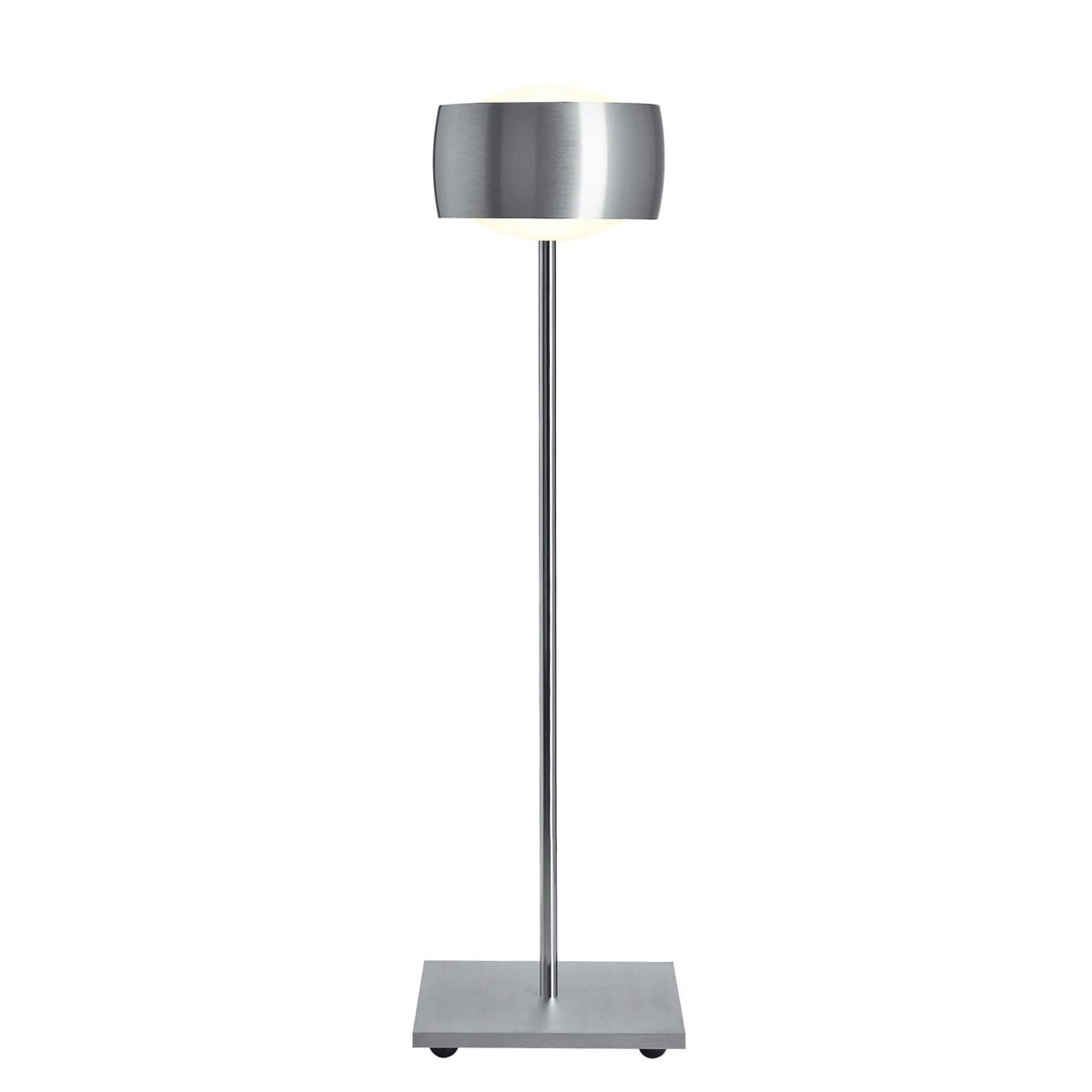 Oligo Grace LED Tischleuchte, Aluminium gebürstet