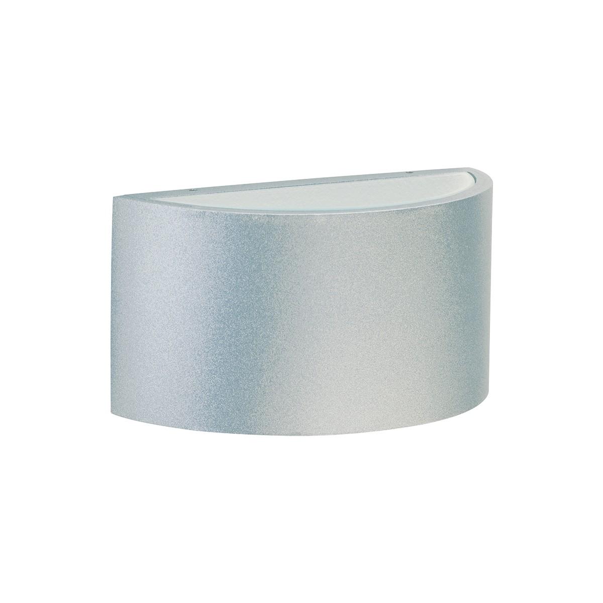Albert 6347 Außenwandleuchte LED, Silber