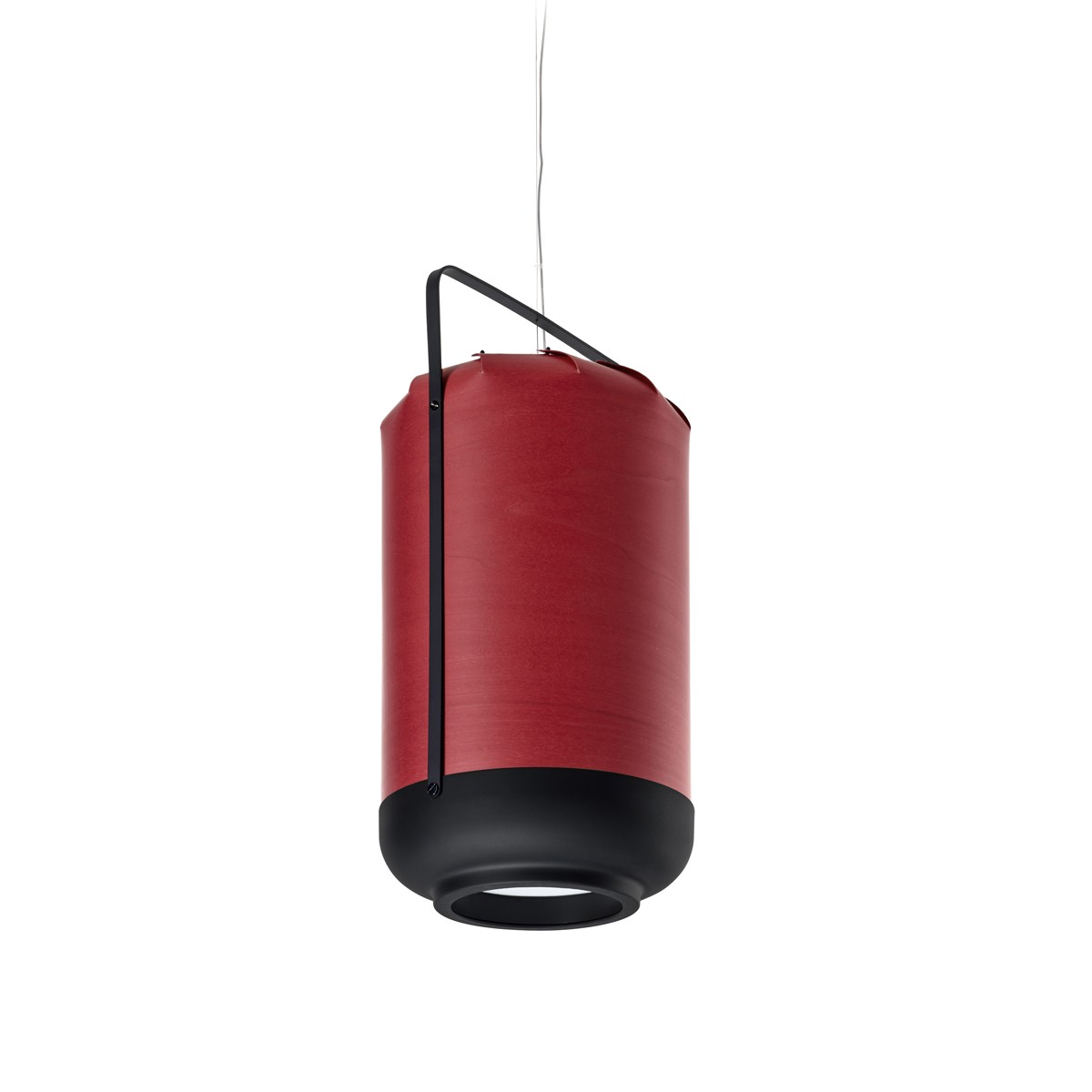 LZF Lamps Chou Tall Pendelleuchte, rot
