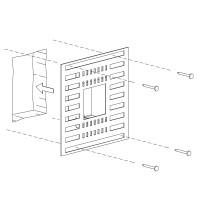 Einbauset Unterputz / Mauerwerk für Mike India 70 Accent, ohne Raum für Konverter