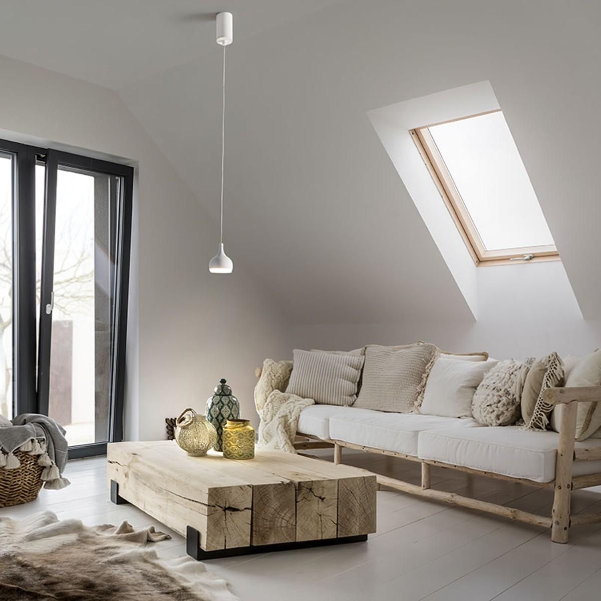 MyLight Oldenburg LED Pendelleuchte, weiß