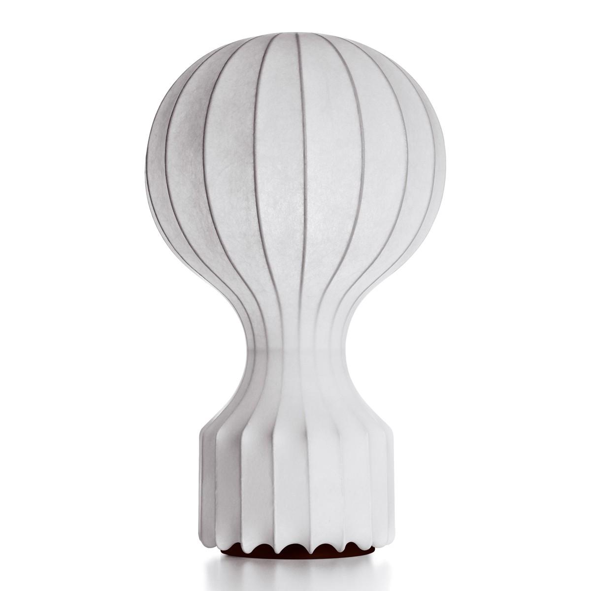 Flos Gatto Tischleuchte, Ø: 38,5 cm, weiß