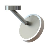 Allround Wall & Ceiling Outdoor, Ø: 24 cm, Chrom