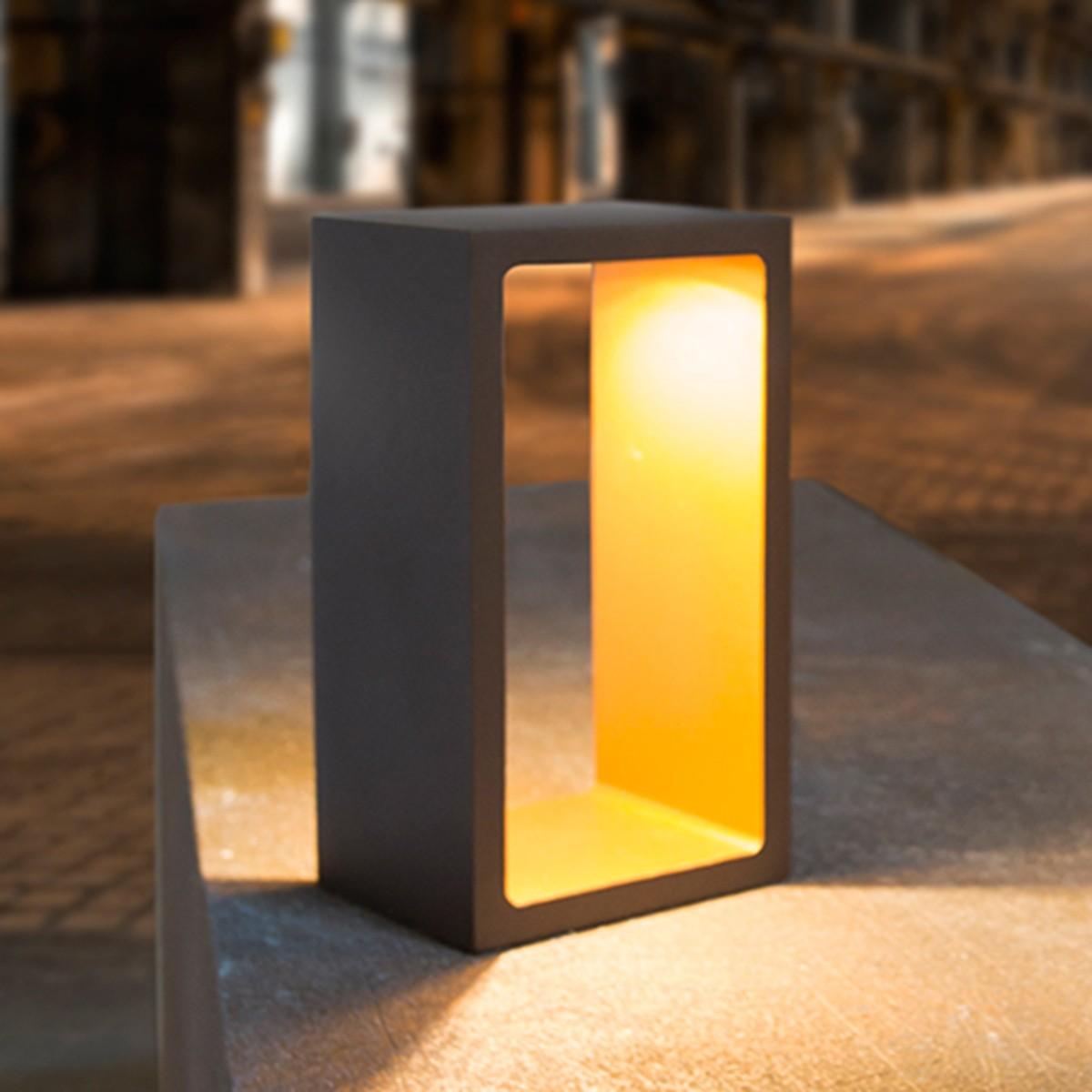 MyLight Corridor LED Tischleuchte, schwarz / Gold