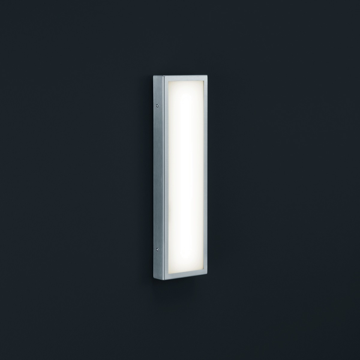 Helestra Scala LED Außenwandleuchte, Edelstahl