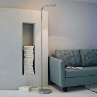 Escale LED-Stehleuchte Eos, Alu geschliffen (Anwendungsbild)