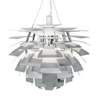 PH Artichoke Pendelleuchte, Ø: 60 cm, Edelstahl poliert