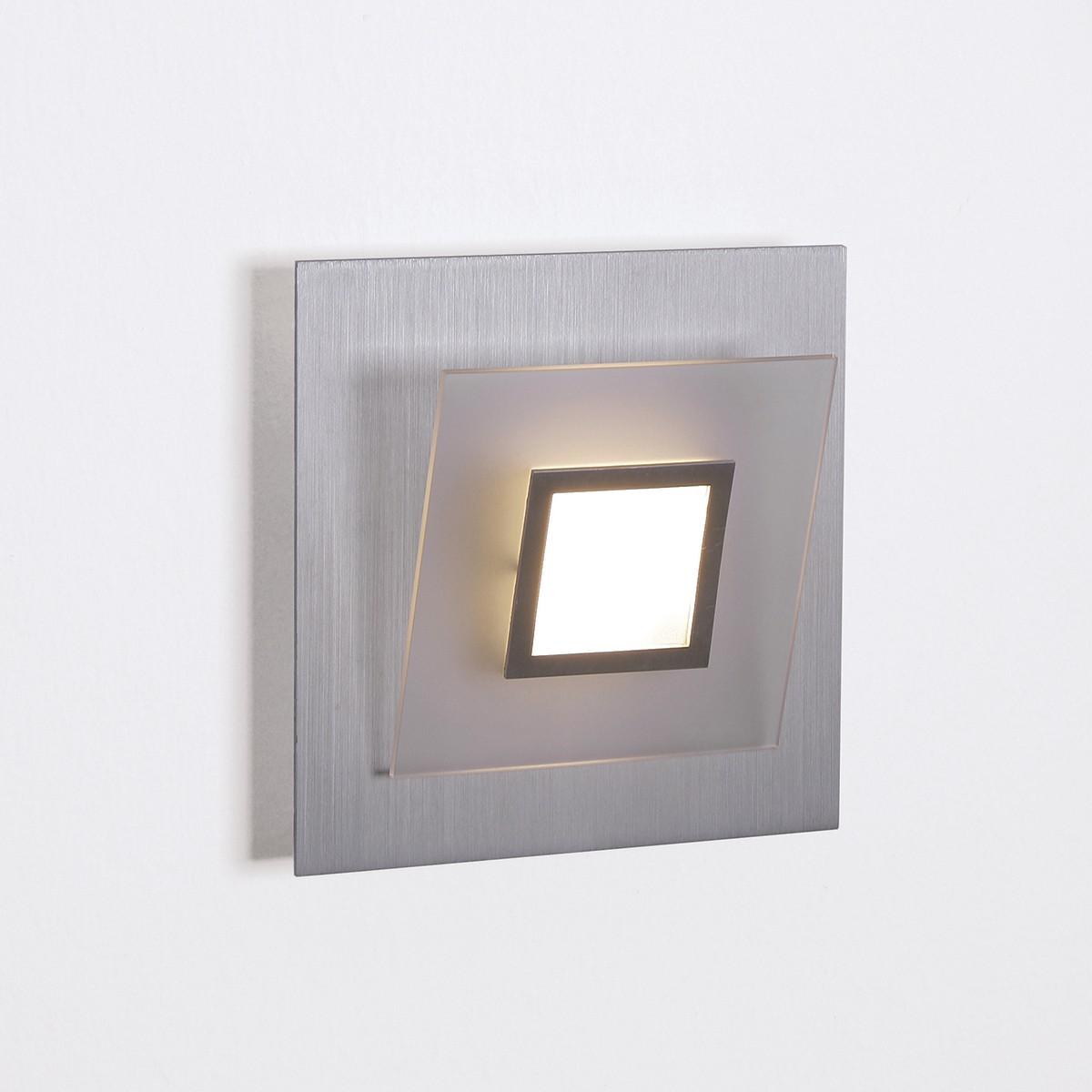 Bopp Frame LED Wand- / Deckenleuchte, Aluminium