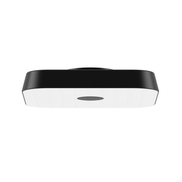 Belux Koi-Q LED Deckenleuchte, Multisens, schwarz