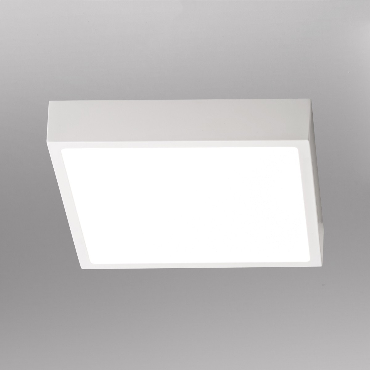Lupia Licht Venox Deckenleuchte, 22,5 x 22,5 cm, weiß