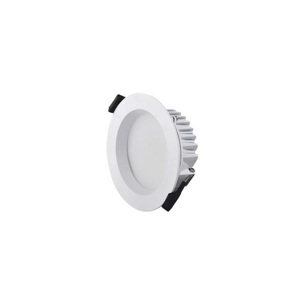 Mobilux MOBiDIM SMD IP44 R85 Einbauleuchte, Ø: 8,5 cm, weiß