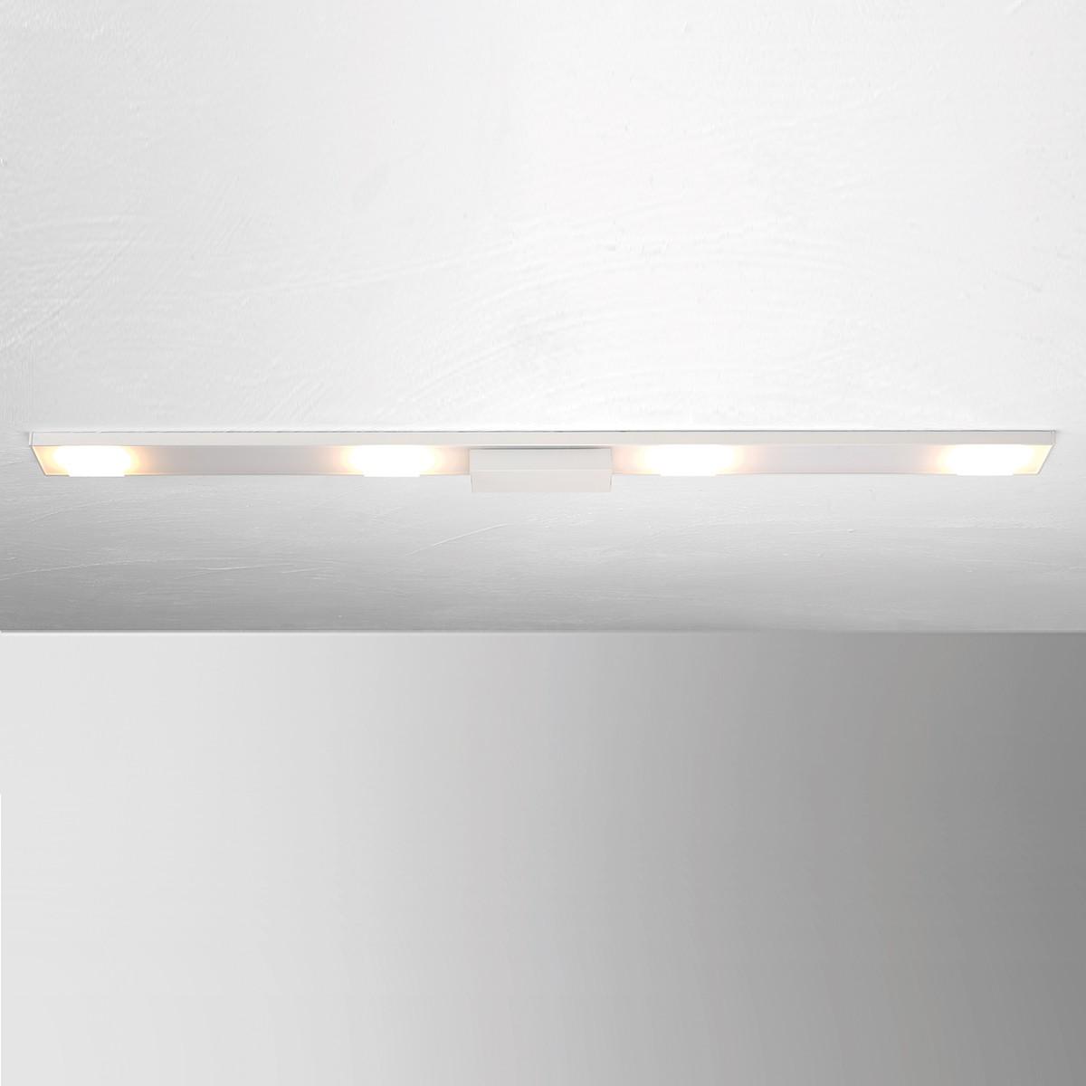 Bopp Slight LED Deckenleuchte, Länge: 90 cm, weiß