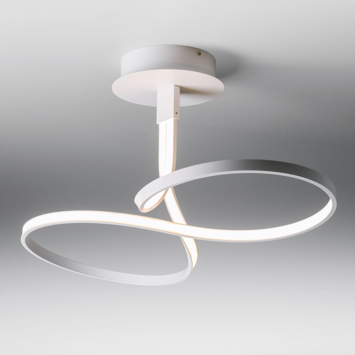 Lupia Licht Loop Deckenleuchte, weiß