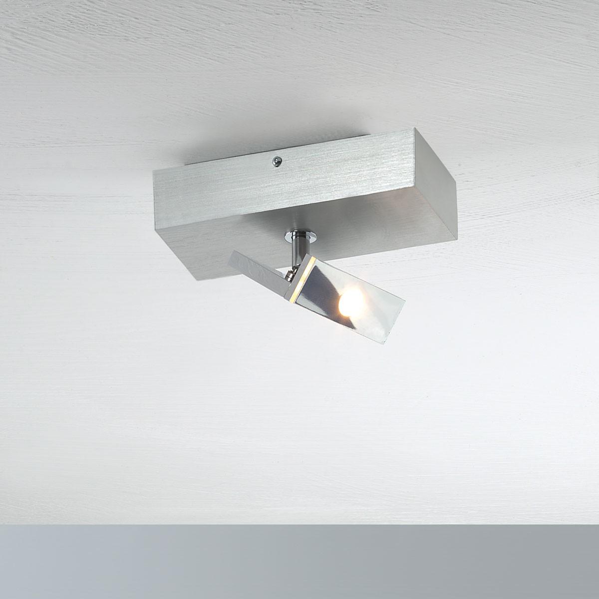 Bopp Elle LED Deckenleuchte, 1-flg., Aluminium geschliffen